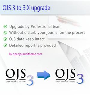 ojs 3 update upgrade