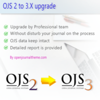 ojs 2 to 3 upgrade