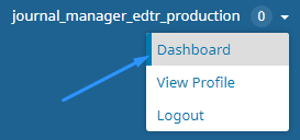 Go to Dashboard Page