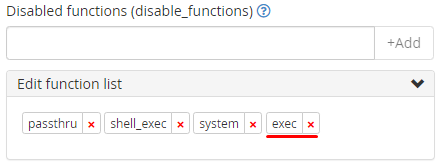 System PHP-FPM Configuration